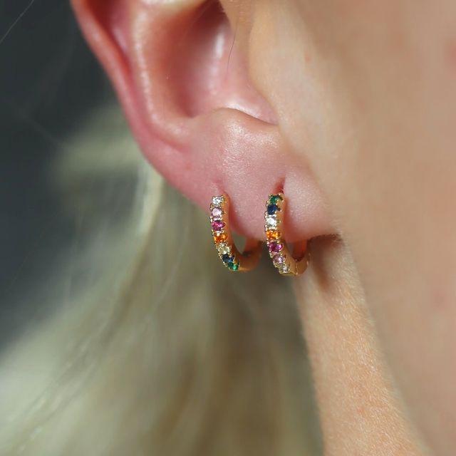 Earrings Rainbow Medium